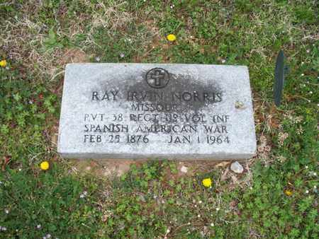 NORRIS, RAY IRVIN   (VETERAN SAW) - Montgomery County, Kansas | RAY IRVIN   (VETERAN SAW) NORRIS - Kansas Gravestone Photos