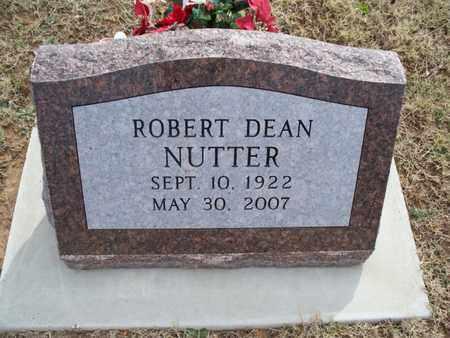 NUTTER, ROBERT DEAN - Montgomery County, Kansas | ROBERT DEAN NUTTER - Kansas Gravestone Photos