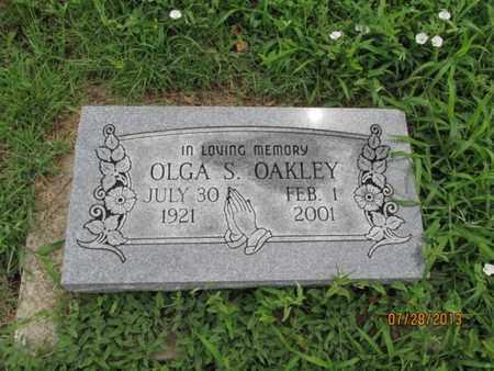 OAKLEY, OLGA S - Montgomery County, Kansas | OLGA S OAKLEY - Kansas Gravestone Photos