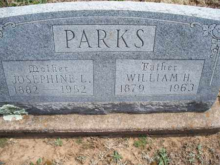 PARKS, JOSEPHINE L - Montgomery County, Kansas | JOSEPHINE L PARKS - Kansas Gravestone Photos