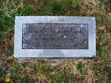 PARRET, ROSA E. - Montgomery County, Kansas | ROSA E. PARRET - Kansas Gravestone Photos