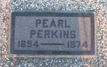 PERKINS, PEARL - Montgomery County, Kansas | PEARL PERKINS - Kansas Gravestone Photos