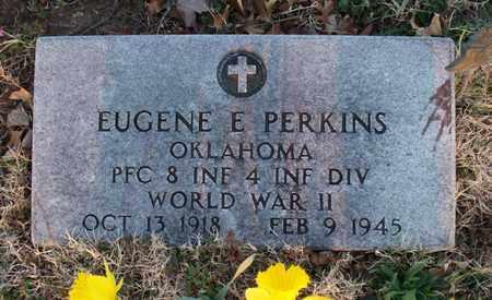 PERKINS, EUGENE E   (VETERAN WWII, KIA) - Montgomery County, Kansas | EUGENE E   (VETERAN WWII, KIA) PERKINS - Kansas Gravestone Photos