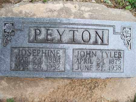 PEYTON, JOHN TYLER - Montgomery County, Kansas   JOHN TYLER PEYTON - Kansas Gravestone Photos