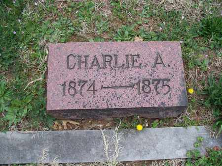 PHILLIPS, CHARLIE A - Montgomery County, Kansas | CHARLIE A PHILLIPS - Kansas Gravestone Photos