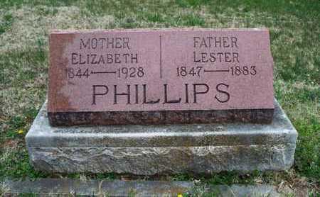 PHILLIPS, ELIZABETH - Montgomery County, Kansas   ELIZABETH PHILLIPS - Kansas Gravestone Photos