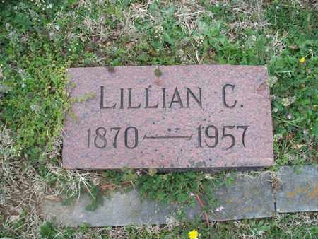 PHILLIPS, LILLIAN C - Montgomery County, Kansas | LILLIAN C PHILLIPS - Kansas Gravestone Photos