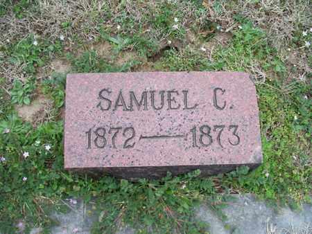 PHILLIPS, SAMUEL C - Montgomery County, Kansas | SAMUEL C PHILLIPS - Kansas Gravestone Photos