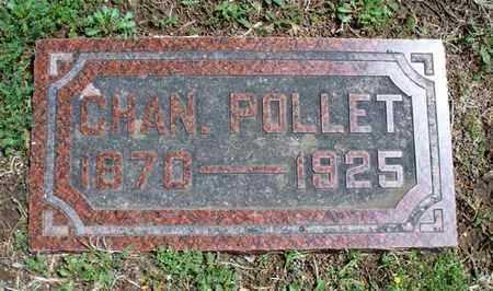 POLLET, CHAN - Montgomery County, Kansas   CHAN POLLET - Kansas Gravestone Photos