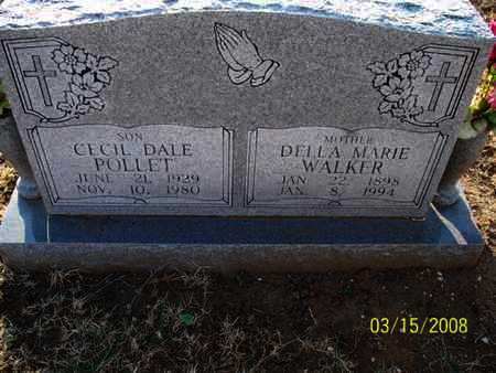 POLLET, CECIL DALE - Montgomery County, Kansas | CECIL DALE POLLET - Kansas Gravestone Photos