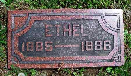 POLLET, ETHEL - Montgomery County, Kansas | ETHEL POLLET - Kansas Gravestone Photos