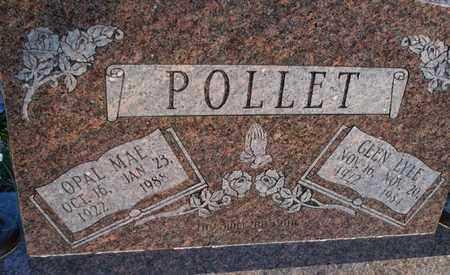 POLLET, GLEN LYLE - Montgomery County, Kansas | GLEN LYLE POLLET - Kansas Gravestone Photos
