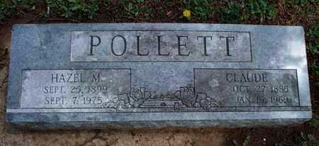 POLLETT, CLAUDE - Montgomery County, Kansas   CLAUDE POLLETT - Kansas Gravestone Photos