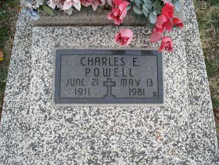 POWELL, CHARLES E - Montgomery County, Kansas   CHARLES E POWELL - Kansas Gravestone Photos