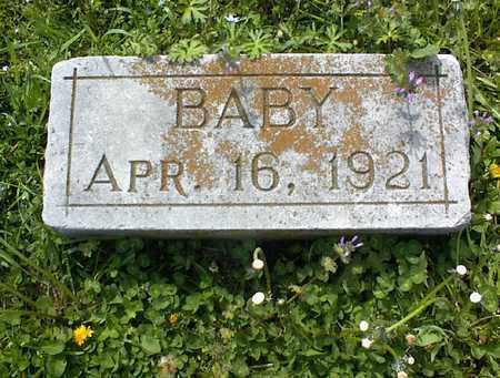 PRICE, BABY - Montgomery County, Kansas   BABY PRICE - Kansas Gravestone Photos