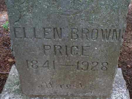 BROWN PRICE, ELLEN - Montgomery County, Kansas | ELLEN BROWN PRICE - Kansas Gravestone Photos