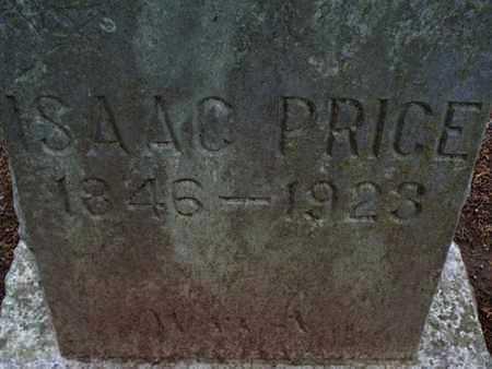 PRICE, ISAAC - Montgomery County, Kansas   ISAAC PRICE - Kansas Gravestone Photos