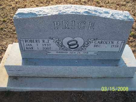 """PRICE, ROBERT   """"R  J"""" - Montgomery County, Kansas   ROBERT   """"R  J"""" PRICE - Kansas Gravestone Photos"""