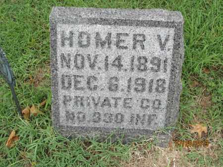 PRICE, HOMER V   (VETERAN WWI) - Montgomery County, Kansas   HOMER V   (VETERAN WWI) PRICE - Kansas Gravestone Photos
