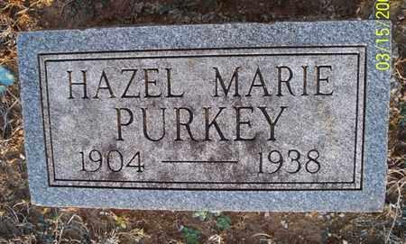 PURKEY, HAZEL MARIE - Montgomery County, Kansas   HAZEL MARIE PURKEY - Kansas Gravestone Photos