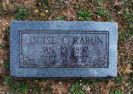 RABUN, LOUISE C - Montgomery County, Kansas | LOUISE C RABUN - Kansas Gravestone Photos