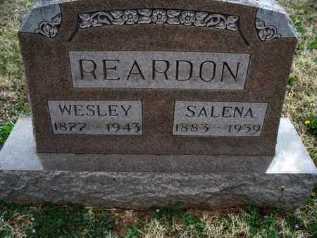 REARDON, SALENA - Montgomery County, Kansas | SALENA REARDON - Kansas Gravestone Photos