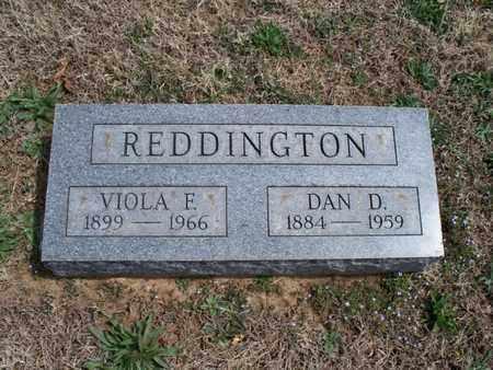 REDDINGTON, DAN D - Montgomery County, Kansas   DAN D REDDINGTON - Kansas Gravestone Photos