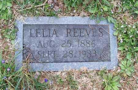 REEVES, LELIA - Montgomery County, Kansas | LELIA REEVES - Kansas Gravestone Photos