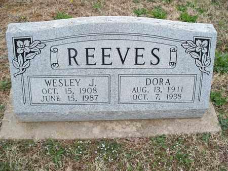 REEVES, WESLEY J - Montgomery County, Kansas   WESLEY J REEVES - Kansas Gravestone Photos