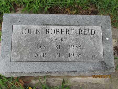 "REID, JOHN ROBERT ""JACK"" - Montgomery County, Kansas | JOHN ROBERT ""JACK"" REID - Kansas Gravestone Photos"
