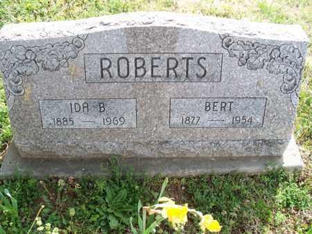 ROBERTS, BERT - Montgomery County, Kansas | BERT ROBERTS - Kansas Gravestone Photos
