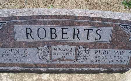 ROBERTS, RUBY MAY - Montgomery County, Kansas | RUBY MAY ROBERTS - Kansas Gravestone Photos