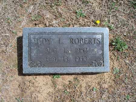 ROBERTS, JUDY L - Montgomery County, Kansas   JUDY L ROBERTS - Kansas Gravestone Photos