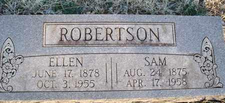 ROBERTSON, SAM - Montgomery County, Kansas   SAM ROBERTSON - Kansas Gravestone Photos