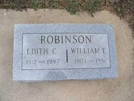 ROBINSON, WILLIAM E - Montgomery County, Kansas   WILLIAM E ROBINSON - Kansas Gravestone Photos