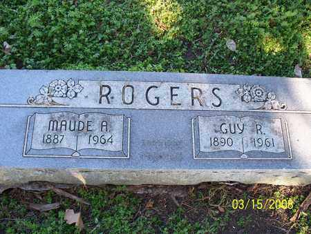 ROGERS, GUY R - Montgomery County, Kansas | GUY R ROGERS - Kansas Gravestone Photos
