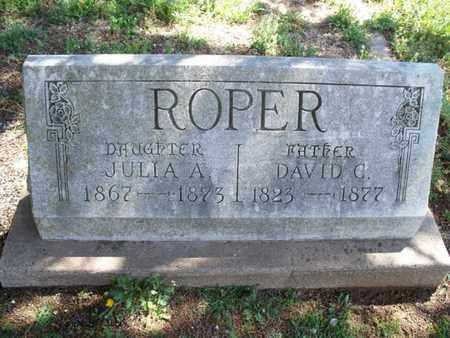ROPER, DAVID G - Montgomery County, Kansas | DAVID G ROPER - Kansas Gravestone Photos