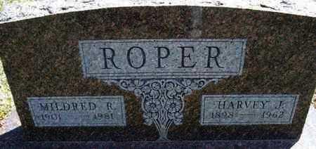 ROPER, HARVEY J - Montgomery County, Kansas | HARVEY J ROPER - Kansas Gravestone Photos
