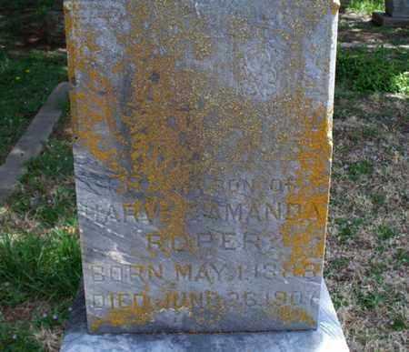 ROPER, SON - Montgomery County, Kansas | SON ROPER - Kansas Gravestone Photos