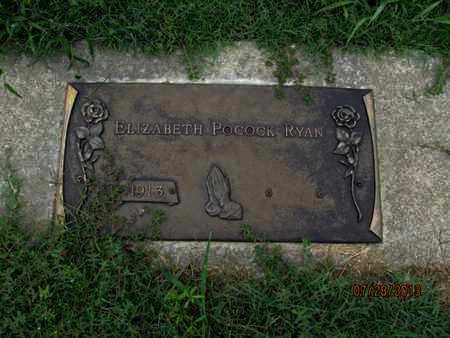 RYAN, ELIZABETH - Montgomery County, Kansas | ELIZABETH RYAN - Kansas Gravestone Photos