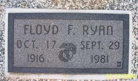 RYAN, FLOYD F - Montgomery County, Kansas | FLOYD F RYAN - Kansas Gravestone Photos