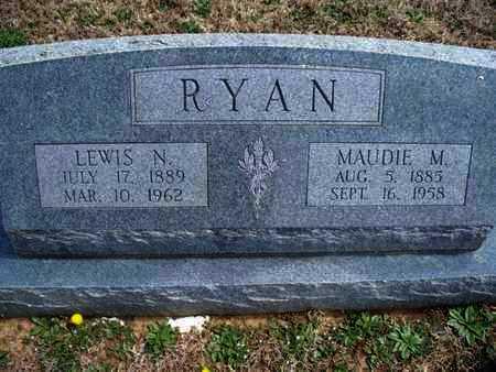 RYAN, MAUDIE MAE - Montgomery County, Kansas | MAUDIE MAE RYAN - Kansas Gravestone Photos