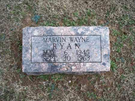 RYAN, MARVIN WAYNE - Montgomery County, Kansas | MARVIN WAYNE RYAN - Kansas Gravestone Photos