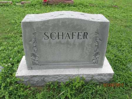 SCHAFER, FAMILY STONE - Montgomery County, Kansas | FAMILY STONE SCHAFER - Kansas Gravestone Photos