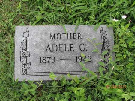 SCHAFER, ADELE C - Montgomery County, Kansas   ADELE C SCHAFER - Kansas Gravestone Photos