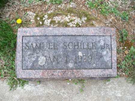 SCHILLE, SAMUEL, JR - Montgomery County, Kansas | SAMUEL, JR SCHILLE - Kansas Gravestone Photos