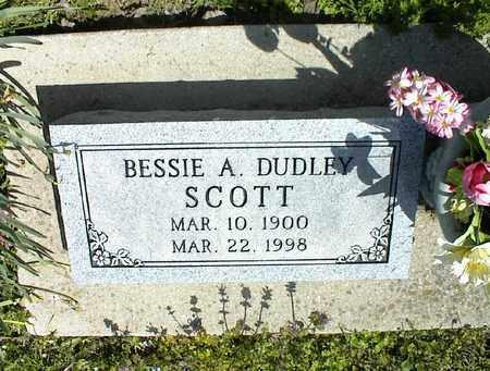 SCOTT, BESSIE A - Montgomery County, Kansas   BESSIE A SCOTT - Kansas Gravestone Photos