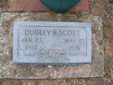 SCOTT, DUDLEY B - Montgomery County, Kansas   DUDLEY B SCOTT - Kansas Gravestone Photos