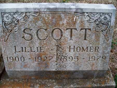 SCOTT, LILLIE - Montgomery County, Kansas | LILLIE SCOTT - Kansas Gravestone Photos