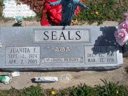 SEALS, JUANITA E - Montgomery County, Kansas | JUANITA E SEALS - Kansas Gravestone Photos